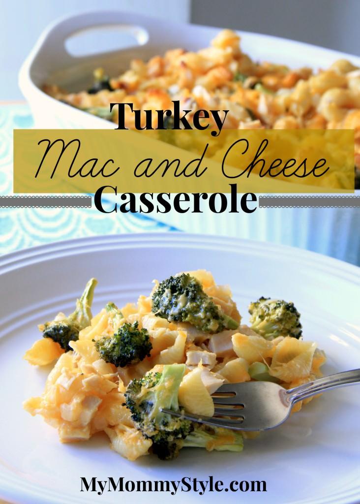turkey mac and cheese casserole