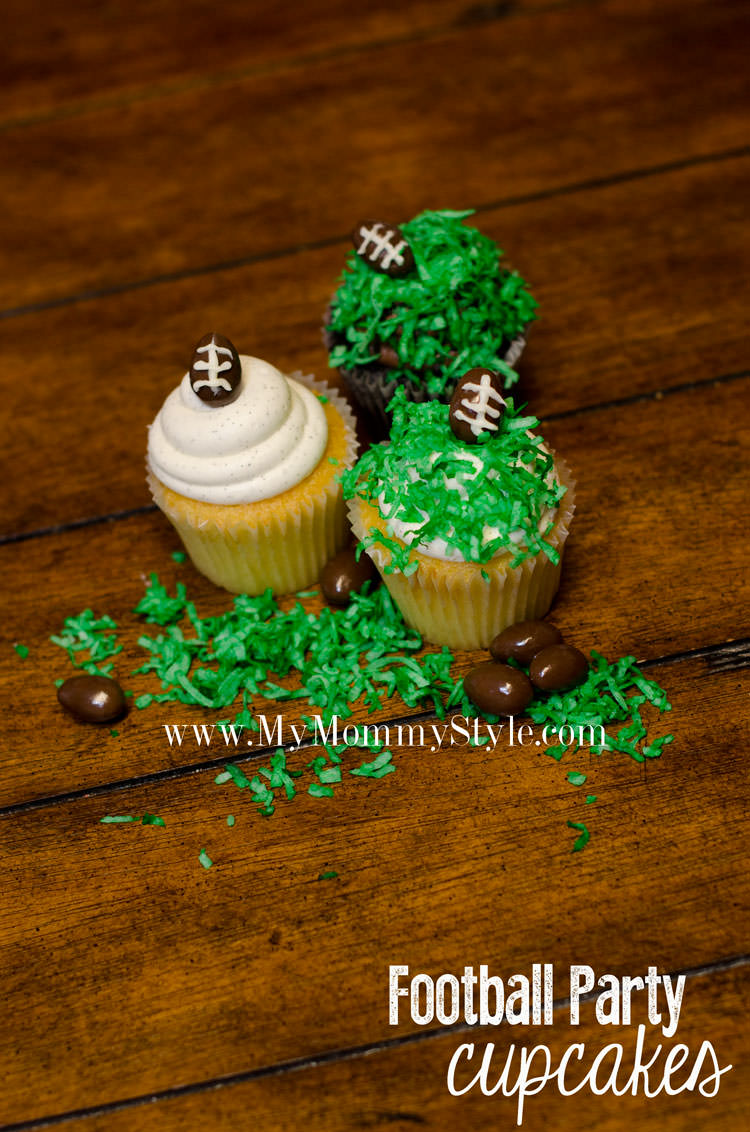 football-party-superbowl-cupcakes-boy-party-pic-two-green-brown