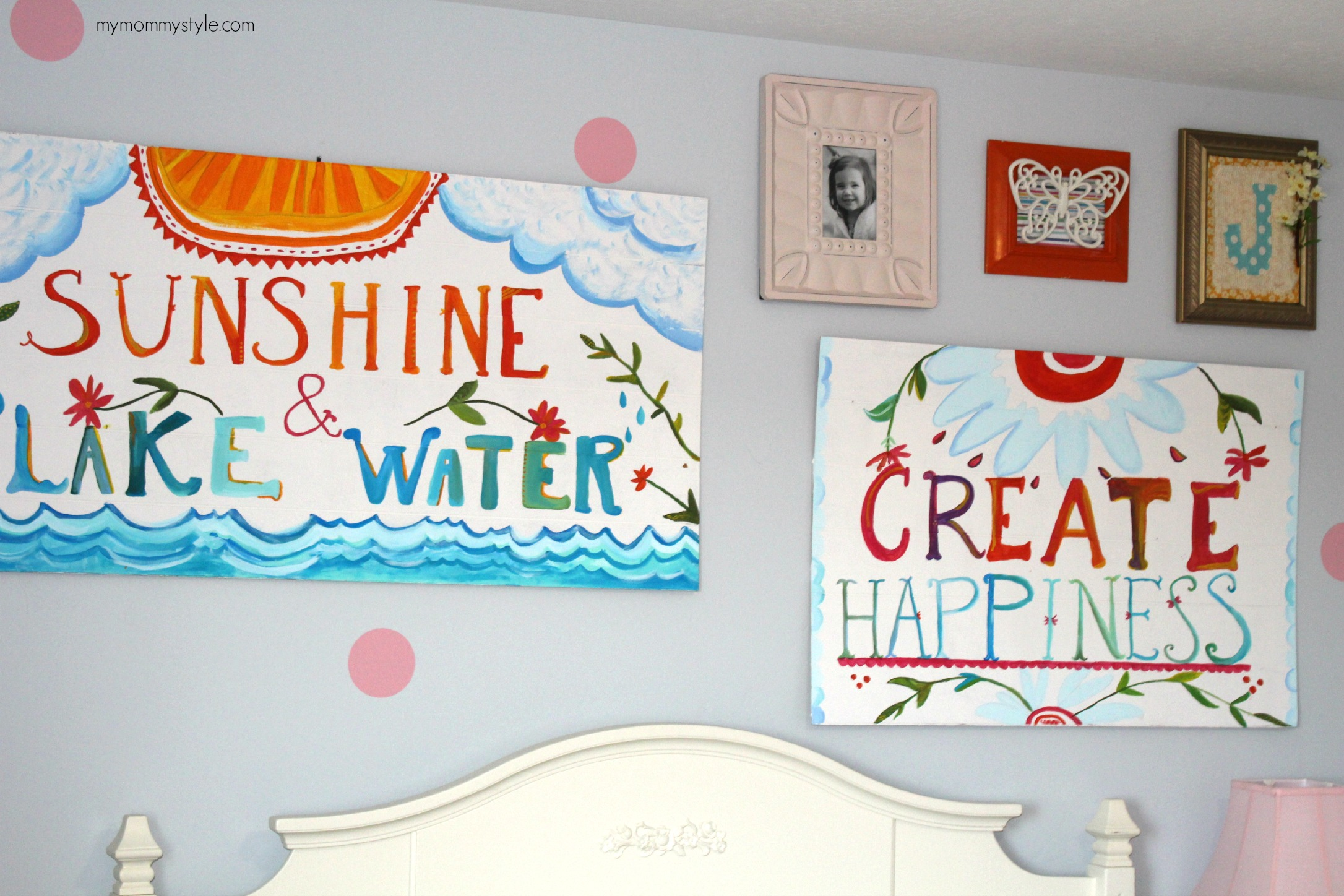 gallery wall art, mymommystyle.com, pottery barn,