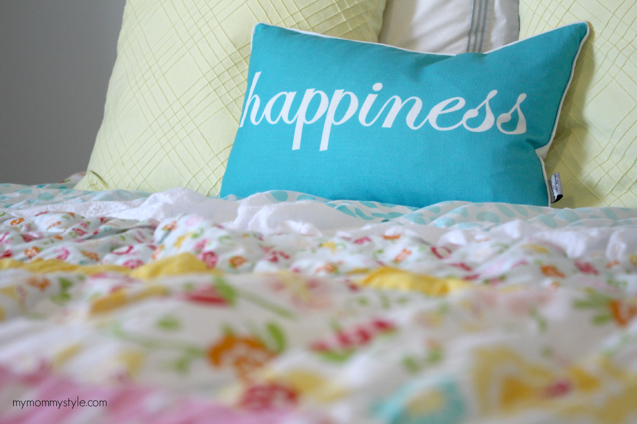 happiness, little girls room, mymommystyle, riley blake fabric