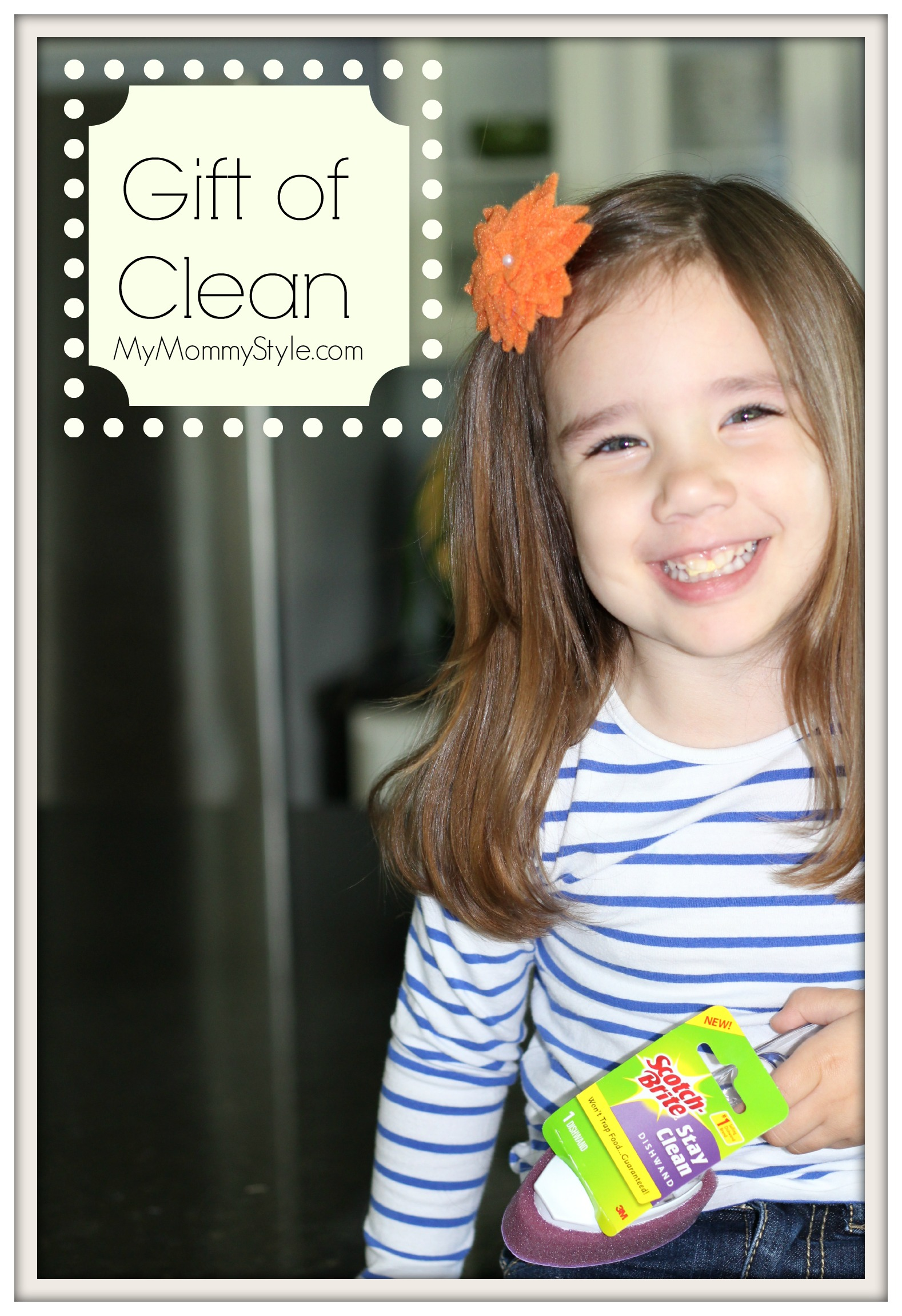 gift of clean, mothersday, scotchbrite, mymommystyle.com