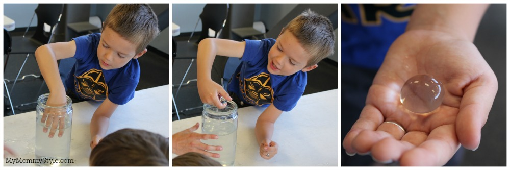 Science, Kids activities, Summer Learning Series, The Leonardo, My Mommy Style, light refraction