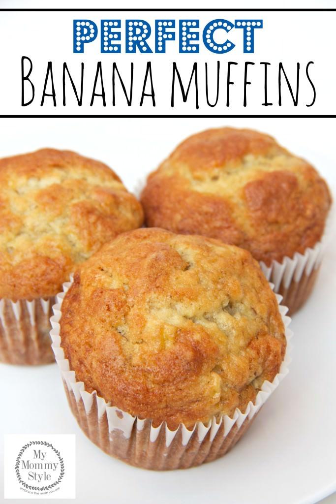 perfect banana muffins