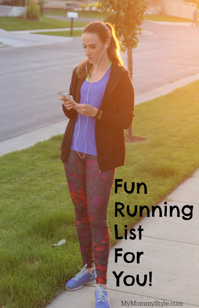 Running list, mymommystyle, running, healthy, fabletics