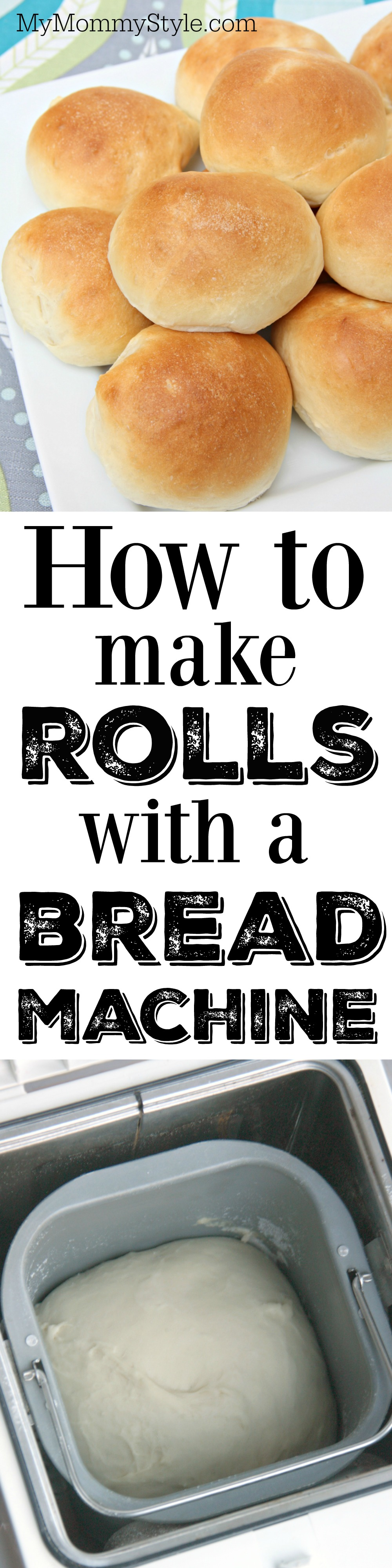 How to make rolls with a bread machine