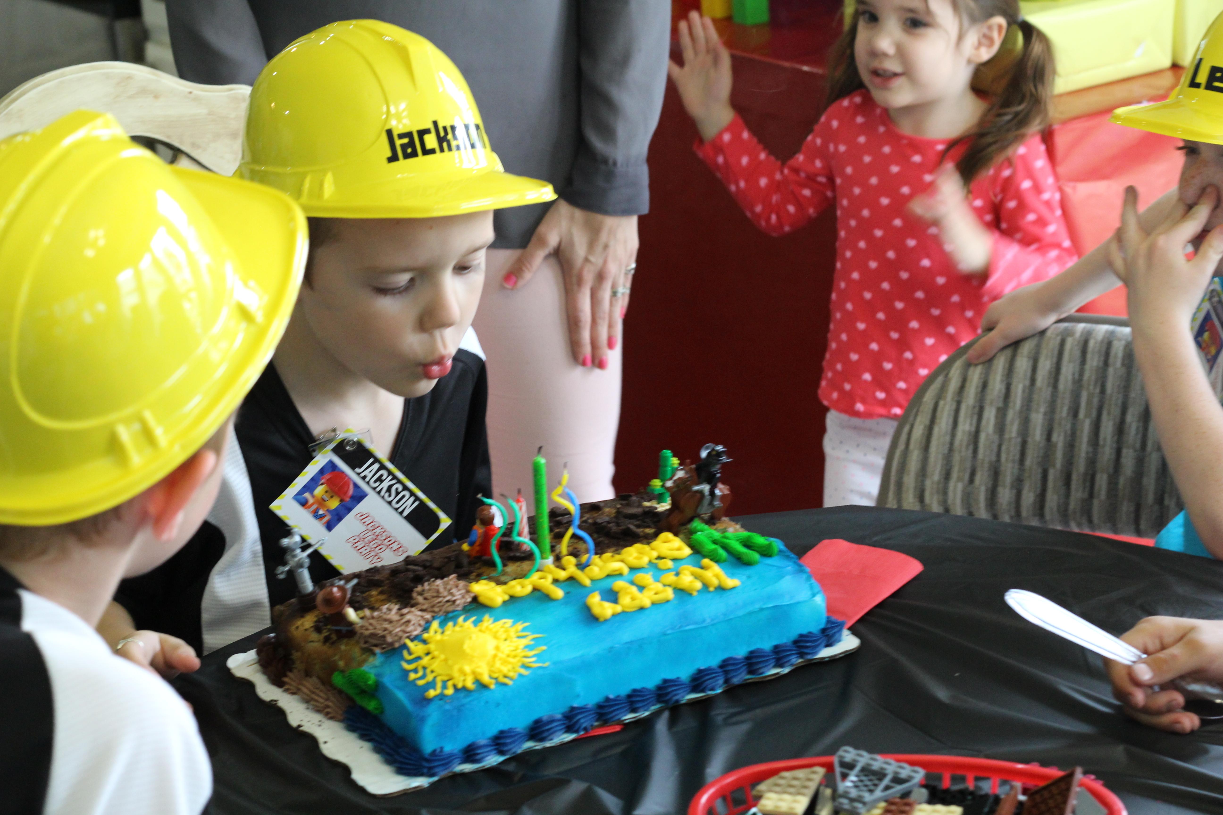 Jackson's 6th lego birthday party 032