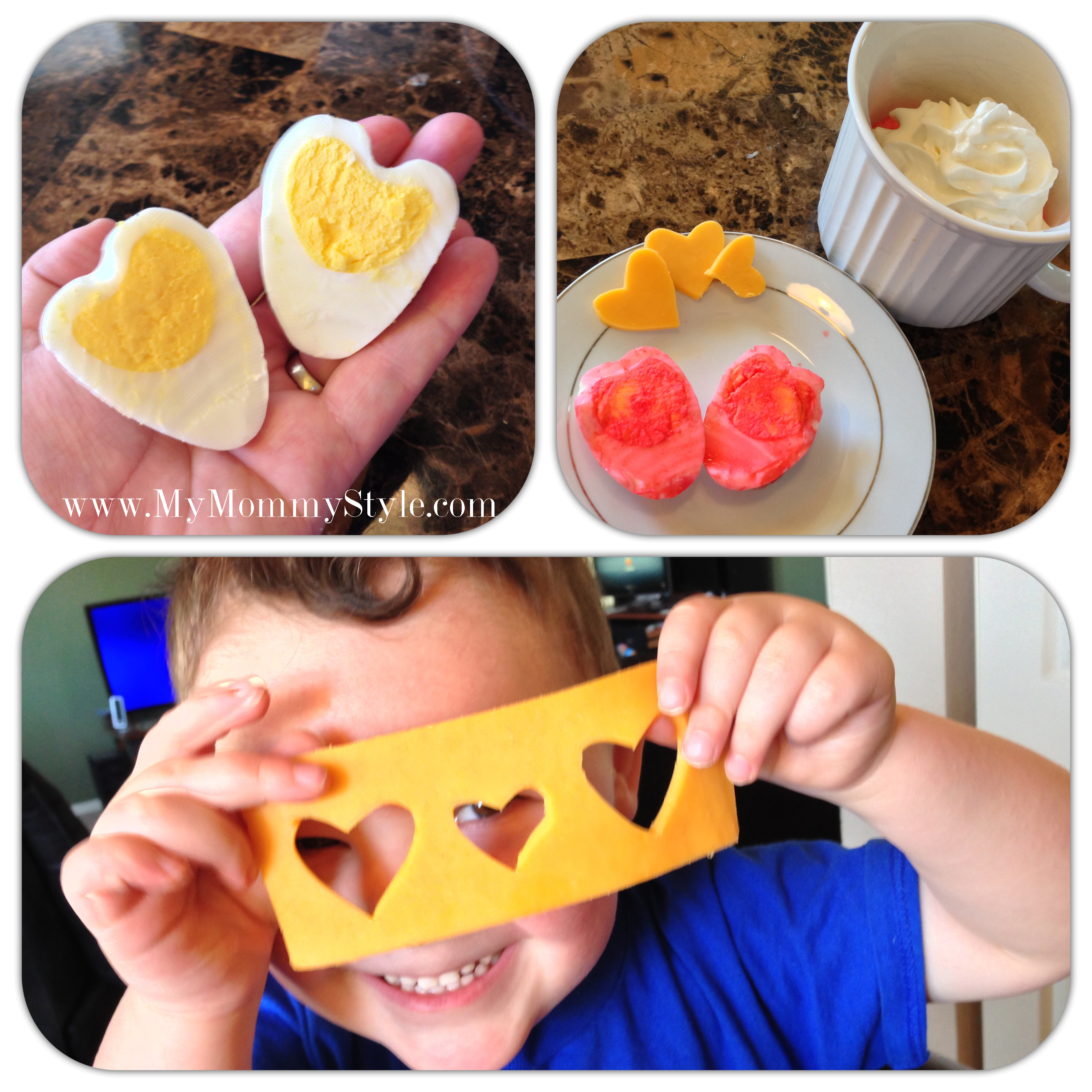valentinesday heart boiled egg hearteggs heart shape how to make