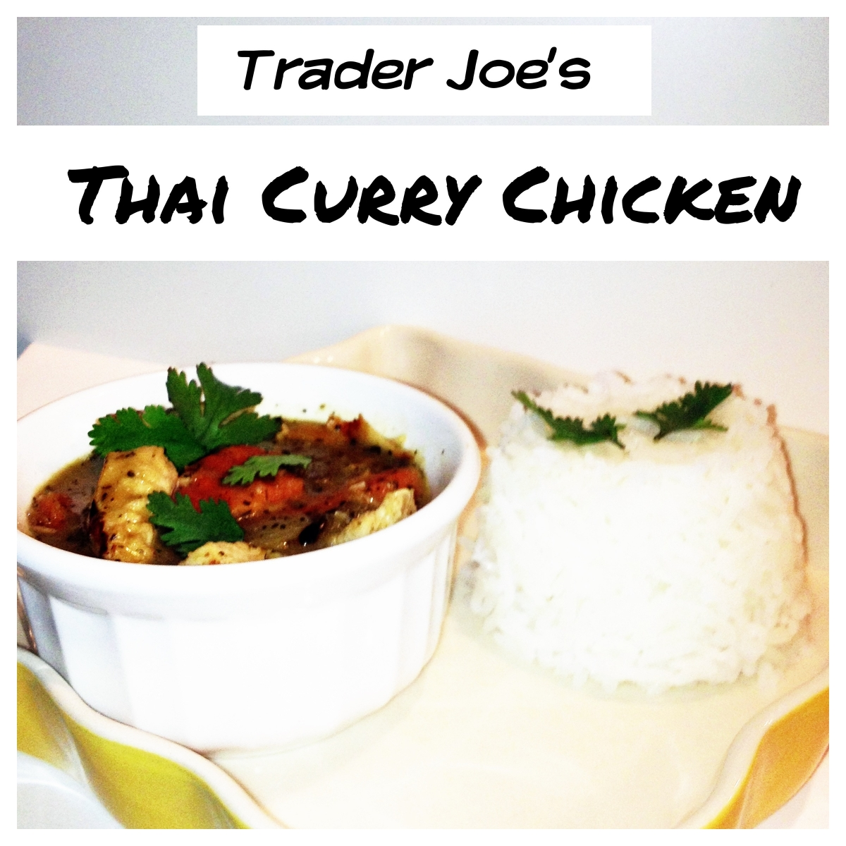 Mango Holidays For Single Parents: Trader Joe's Thai Curry Chicken