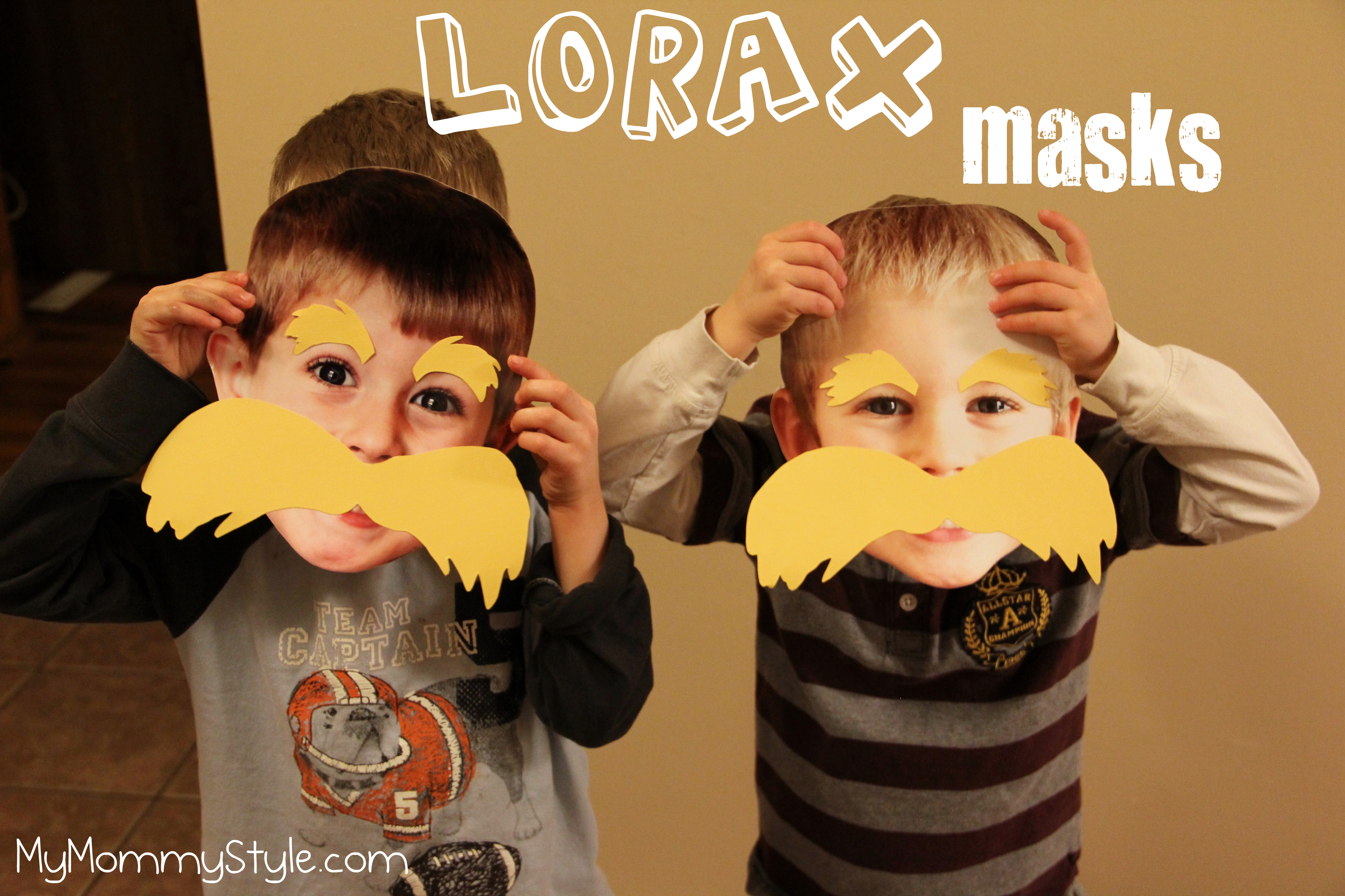 Lorax Masks My Mommy Style