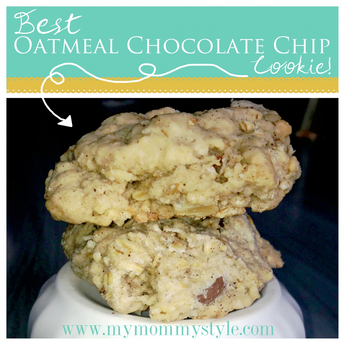 Mango Holidays For Single Parents: Oatmeal Chocolate Chip Cookies