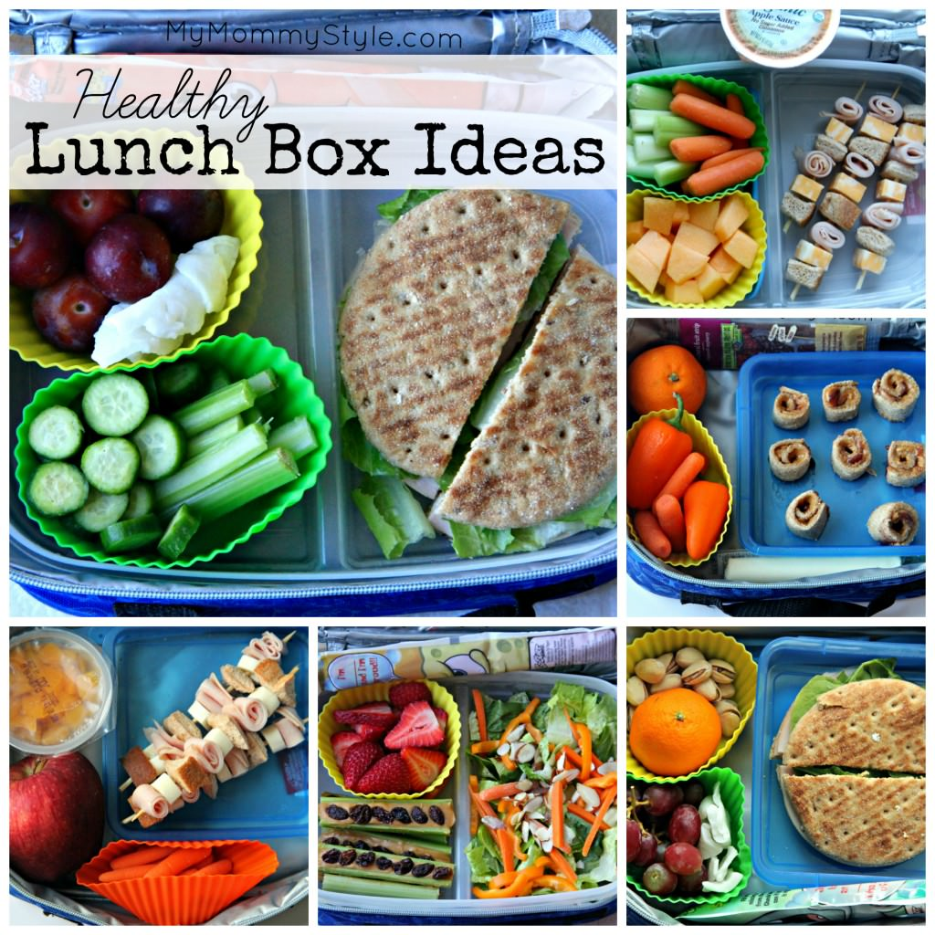 Healthy lunch box ideas for Lunch food ideas