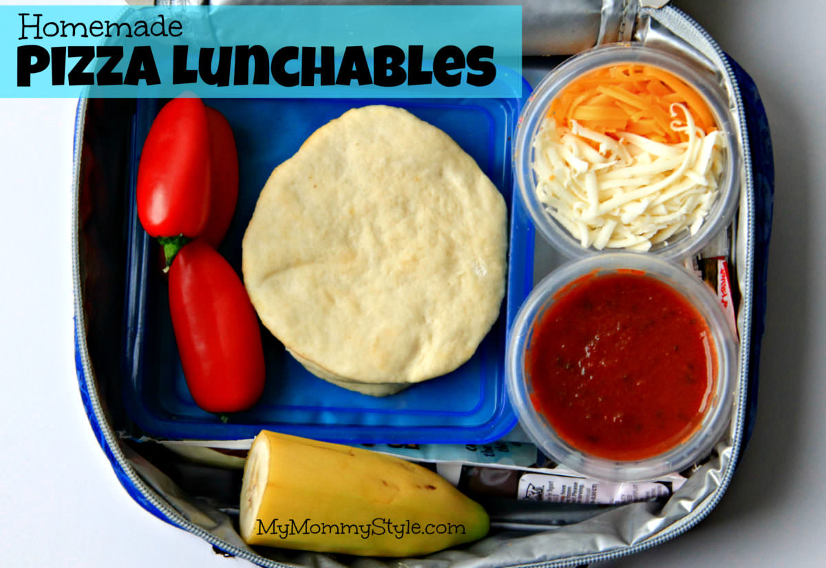 Lunch box leftovers (and more) - Healthy Kids |Lunch Series Pizza