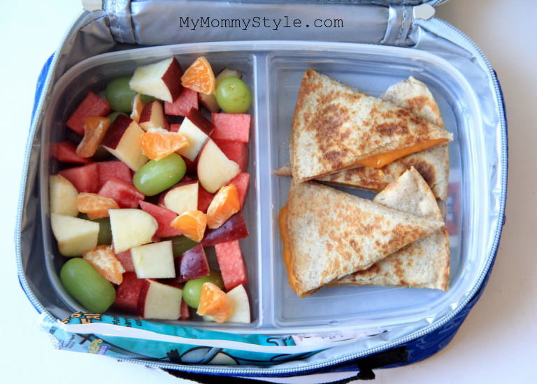 healthy lunch box ideas, school lunch, cold lunch, brown sack lunch, fruit salad lunch