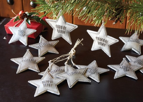 Christmas Ornaments That Teach Of Christ