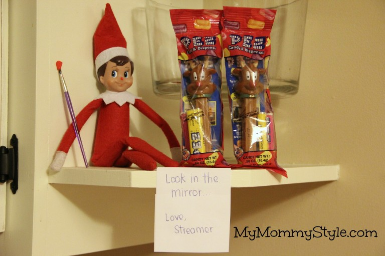 elf on the shelf ideas, fun christmas ideas for kids
