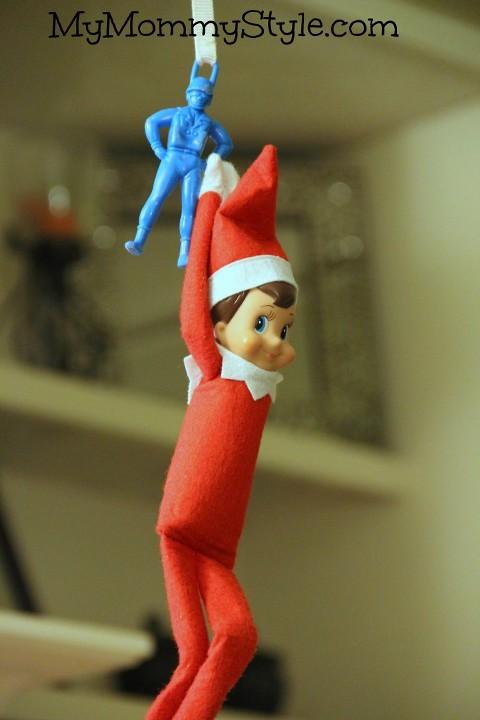 elf on the shelf parachute, elf on the shelf ideas, christmas traditions