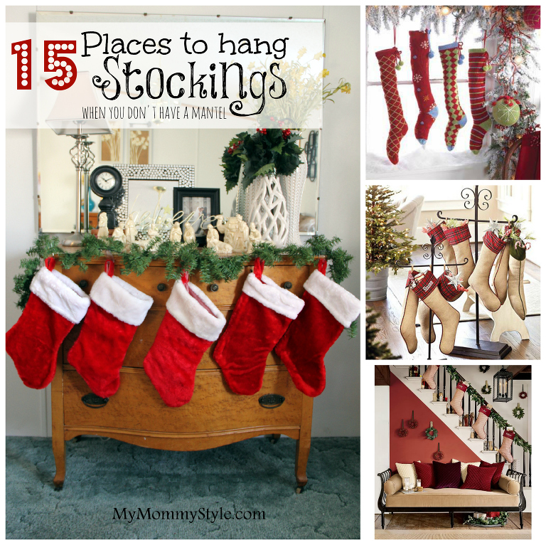 15 places to hang a stocking