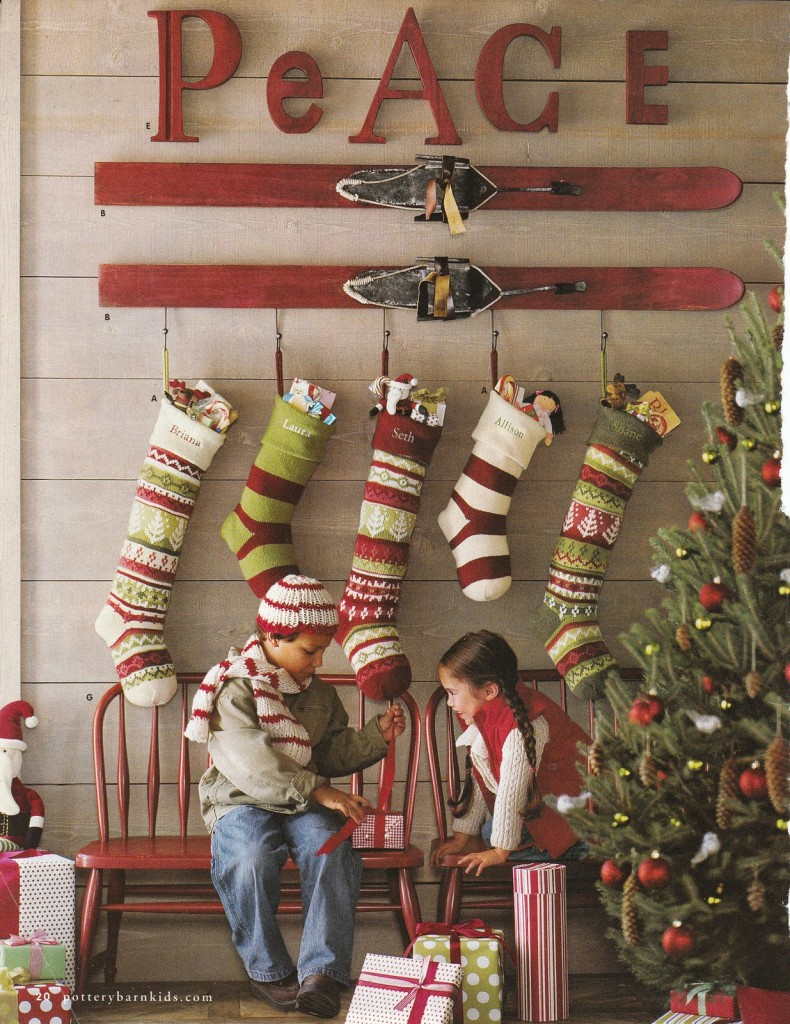 Where To Hang Stockings If You Don T Have A Fireplace Or Mantel