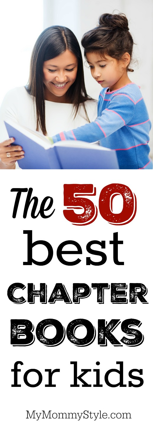The 50 best read-aloud chapter books for kids