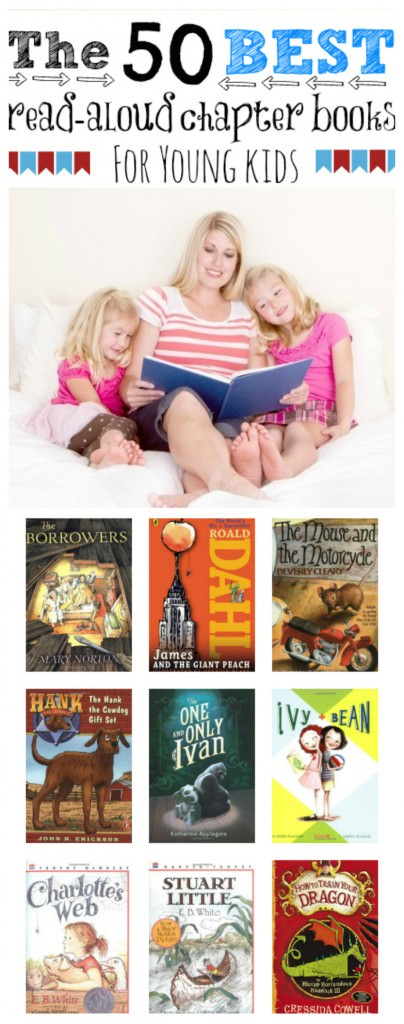 50 Best Read Aloud Chapter Books For Young Kids