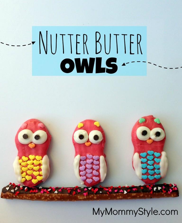 Owl Nutter Butter Cookies