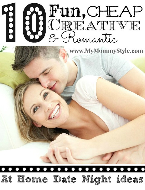 at home date night ideas fun cheap creative romantic first date married love valentines ideas