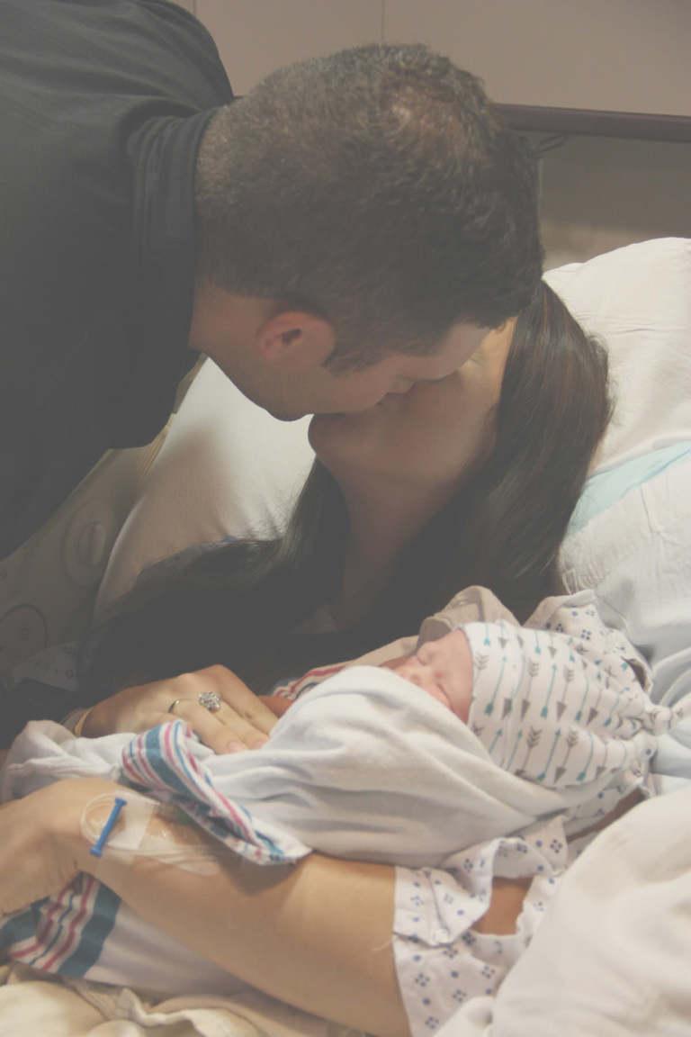 congratulations kiss, baby, newborn, hypnobabies, mymommystyle