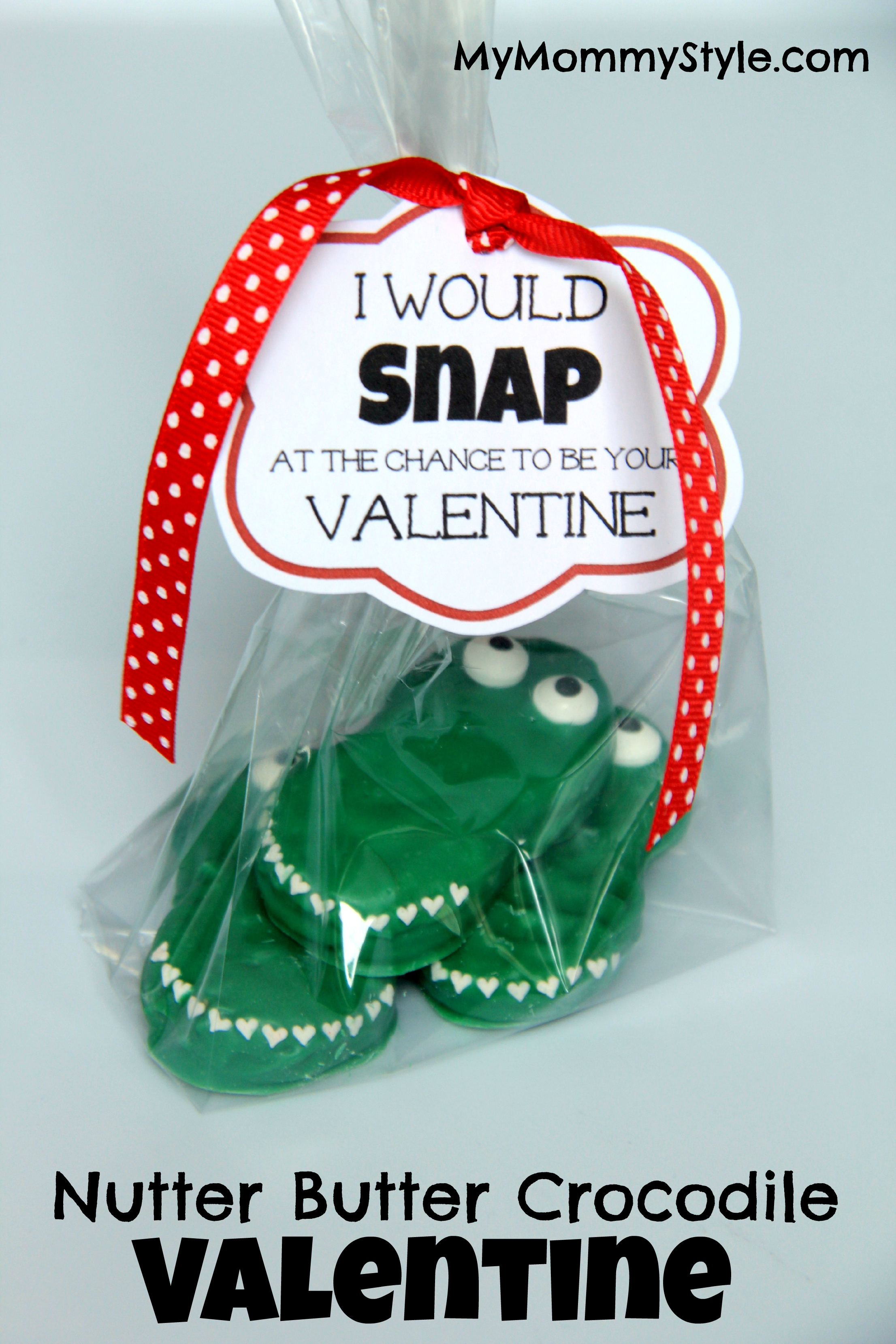 Crocodile Nutter Butter Valentines My Mommy Style