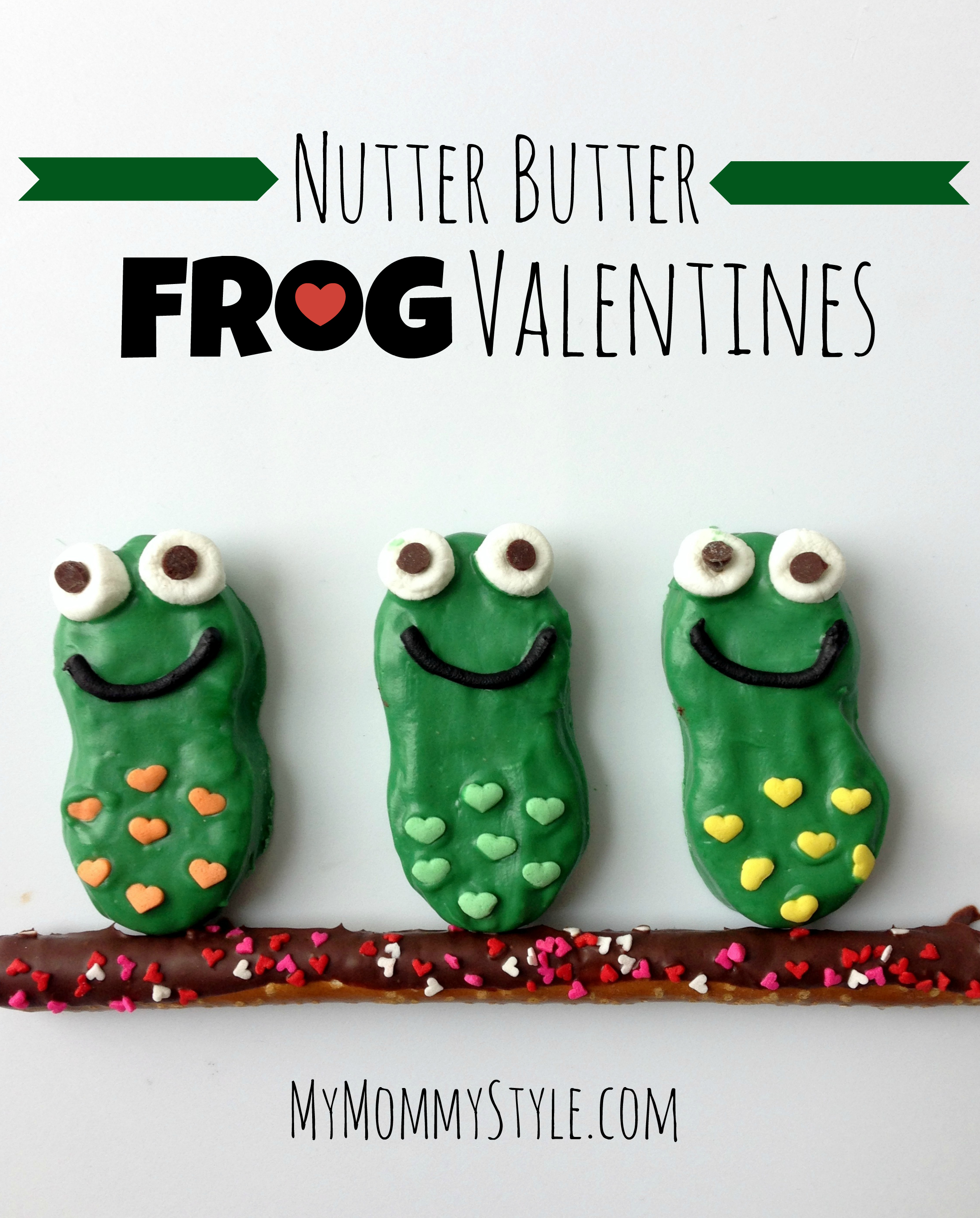 Mango Holidays For Single Parents: Nutter Butter Frog Valentines