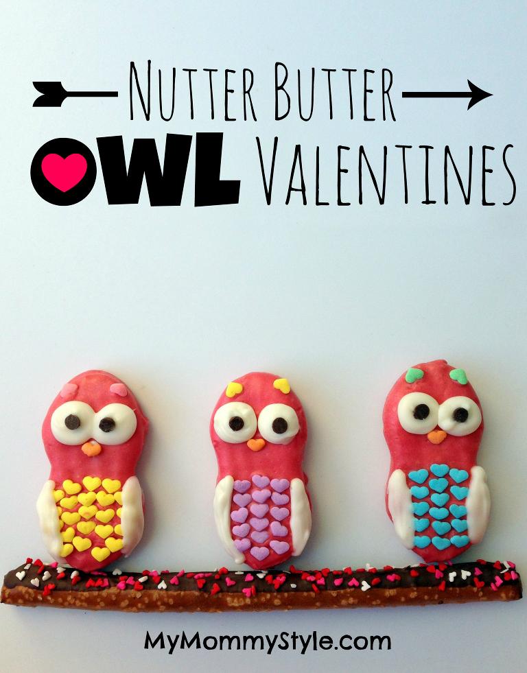 nutter butter owl valentines