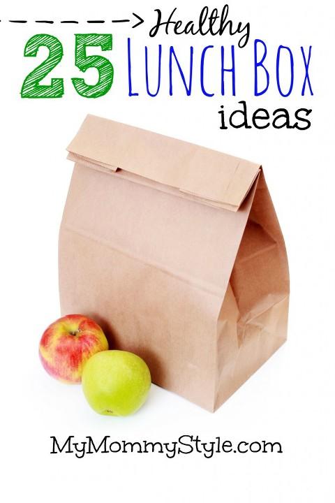 25 healthy lunch box ideas