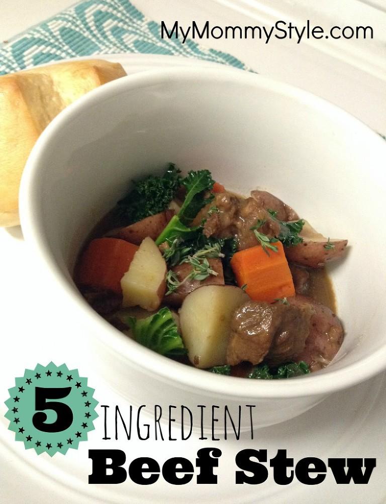 5 ingredient beef stew