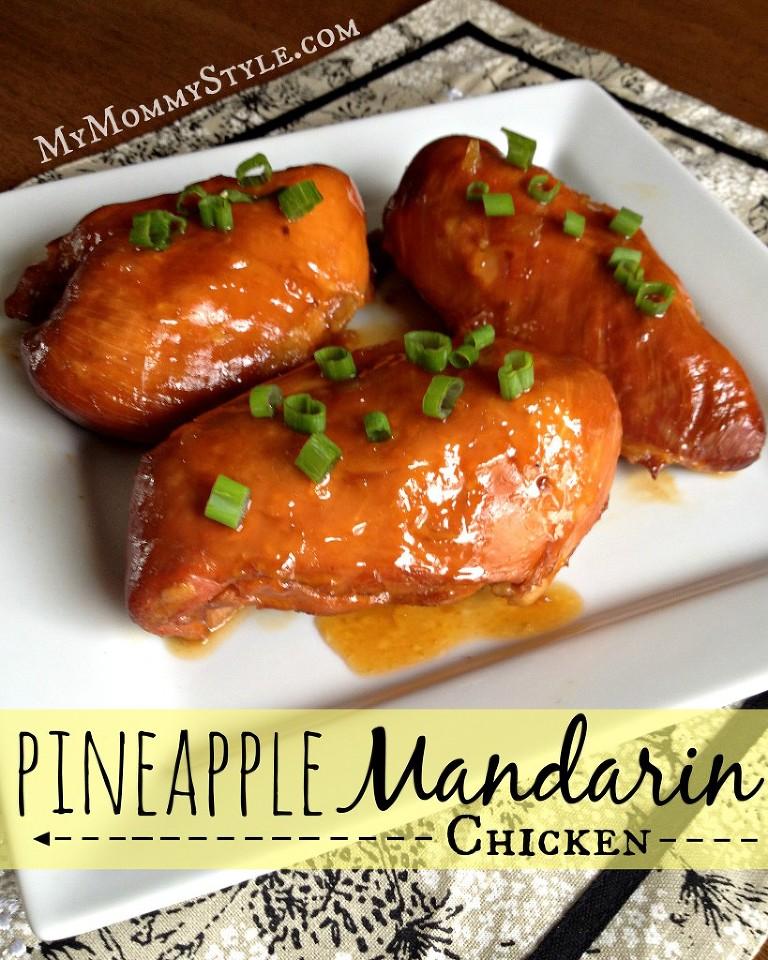 pineapple mandarin chicken