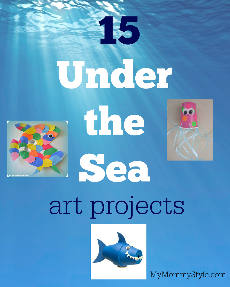 Easy to make under the sea art projects for preschoolers.