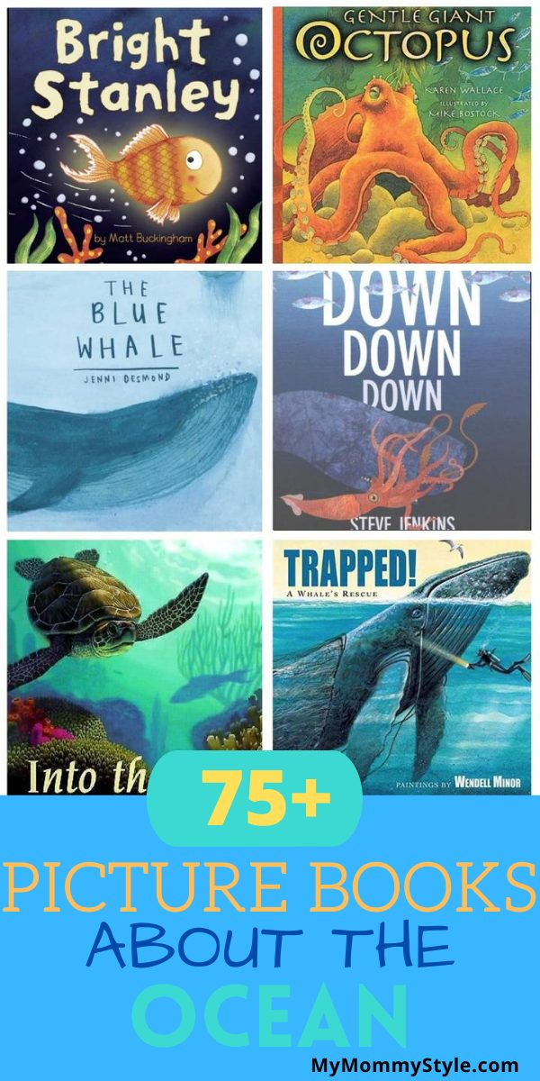 75+ picture books about the ocean via @mymommystyle