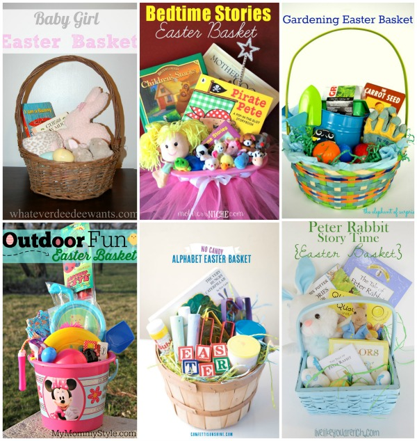Candy free easter basket ideas my mommy style negle Image collections