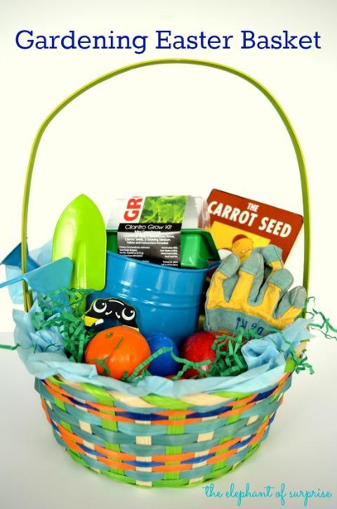 Gardening Easter basket