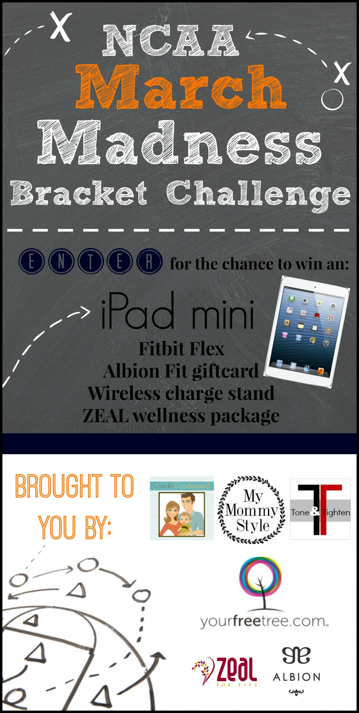 March Madness Bracket Challenge And Giveaway