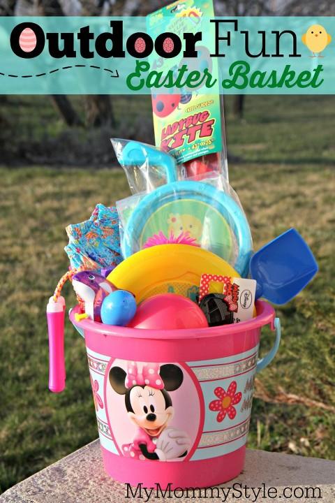 Outdoor Fun Easter basket