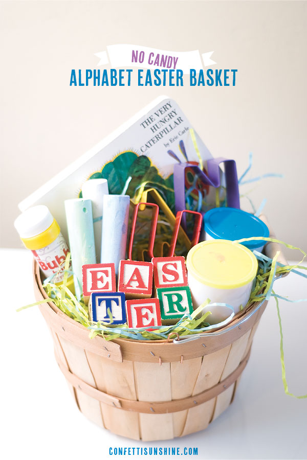 Candy free easter basket ideas my mommy style negle Gallery