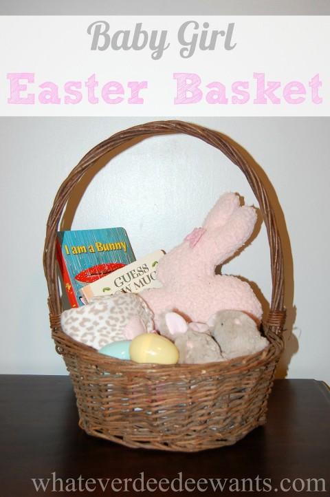 baby girl easter basket