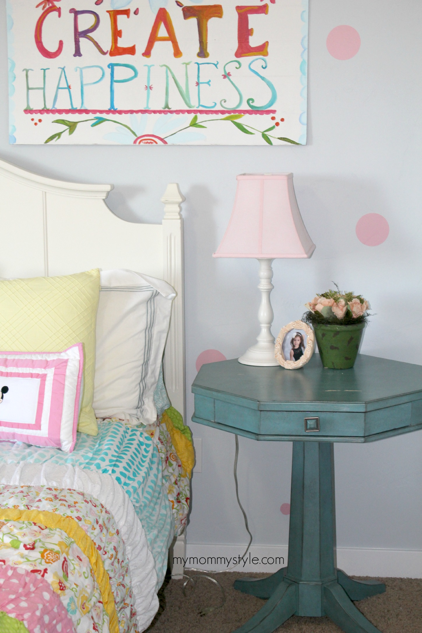 little girls room, create happiness, mymommmystyle.com