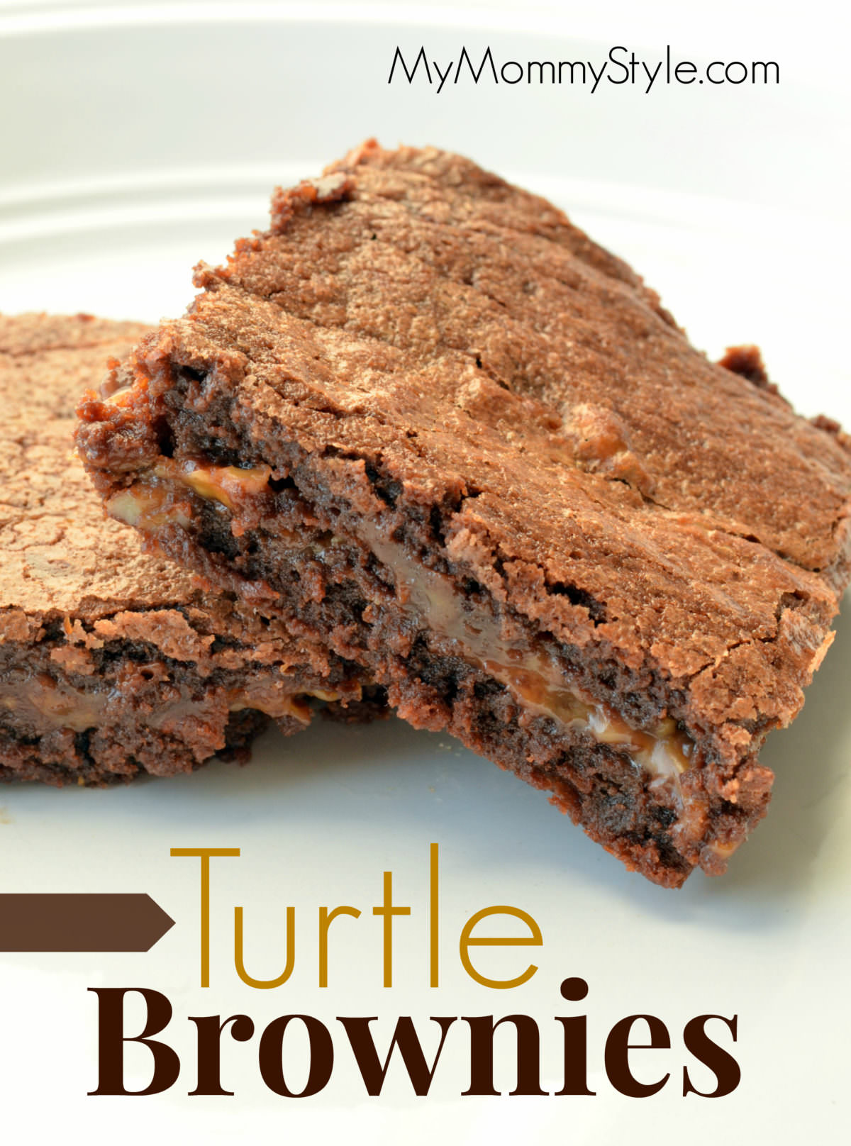 Turtle Brownies - My Mommy Style