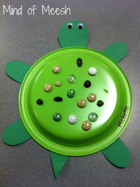 under the sea art projects turtle
