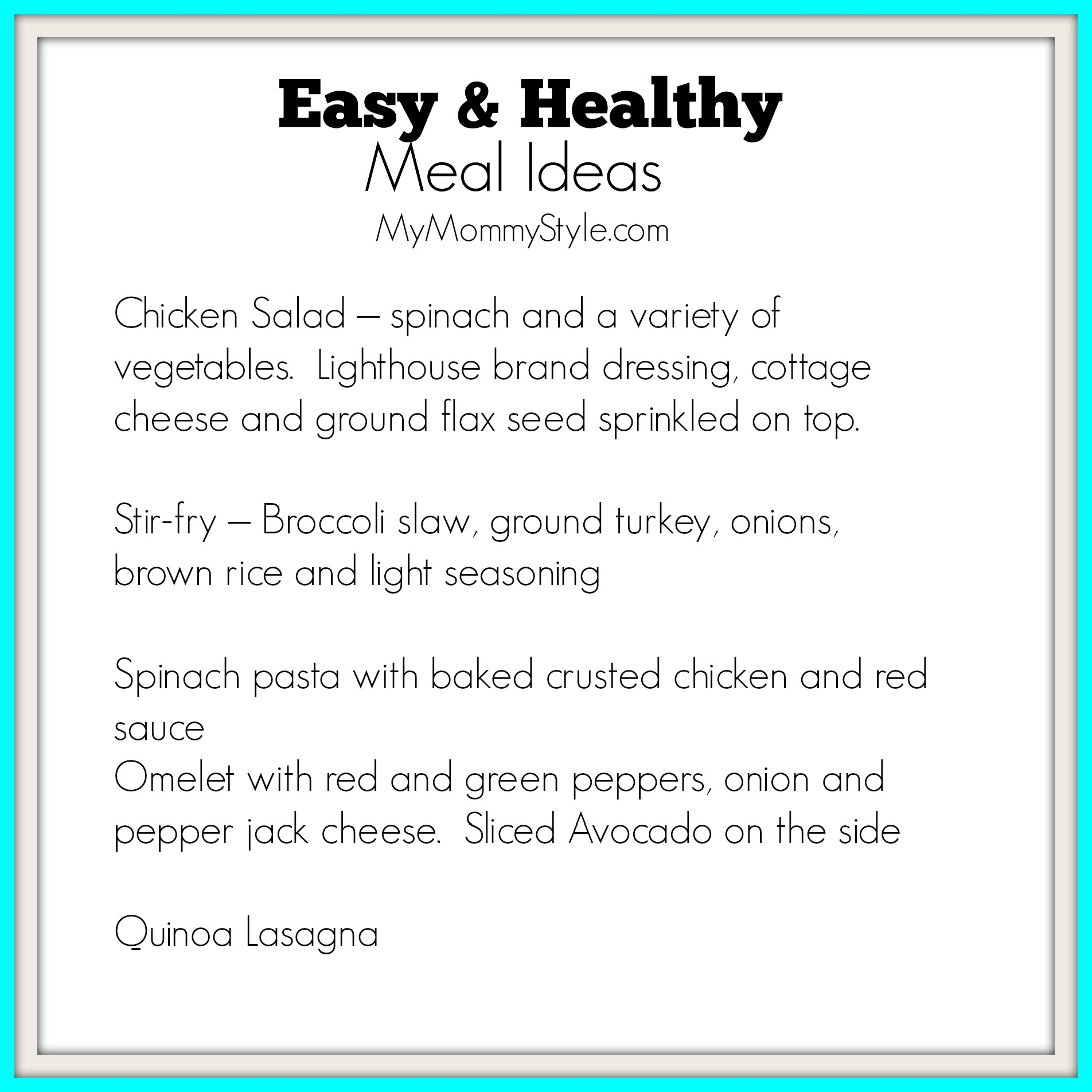 Healthy Meal Ideas To Lose Weight Easy-and-healthy-meal-ideas- ...