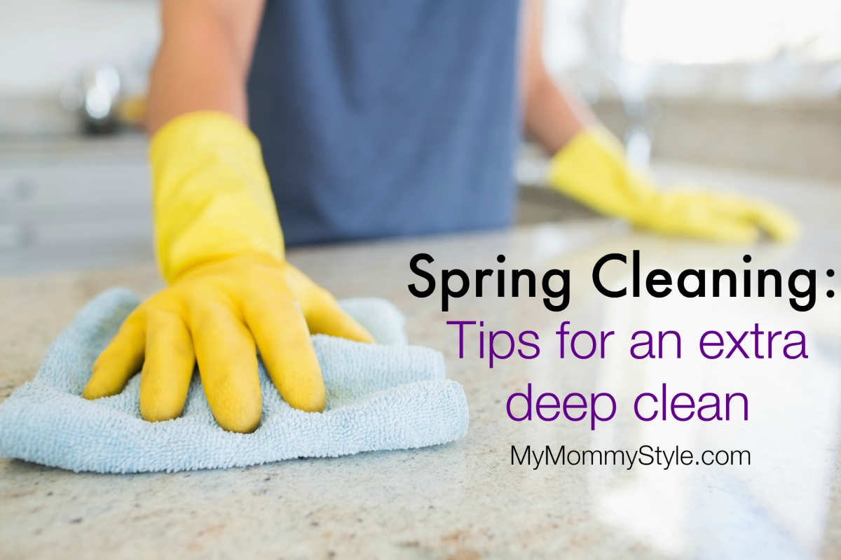 Spring Cleaning Tips My Mommy Style