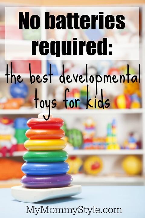 The best developmental toys for kids