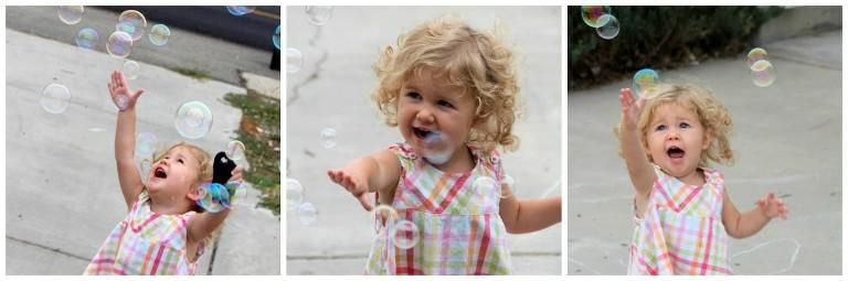 bubbles are fun