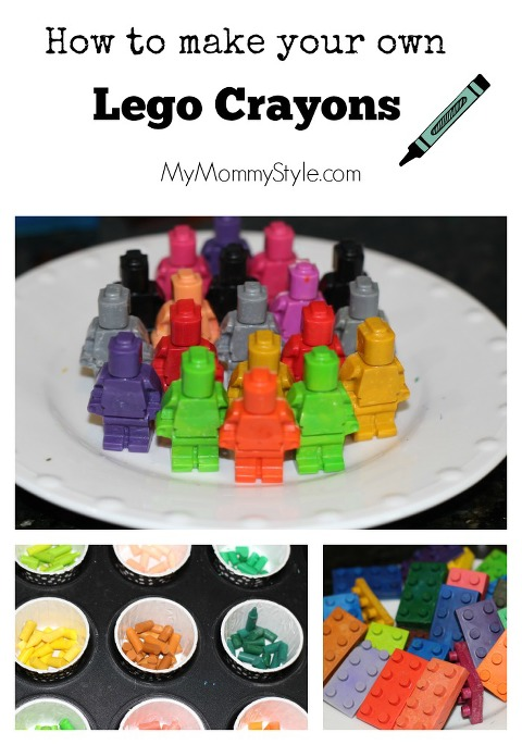 How to make your own lego crayons, how to, legos, crayons, DIY, MYmommystyle.com