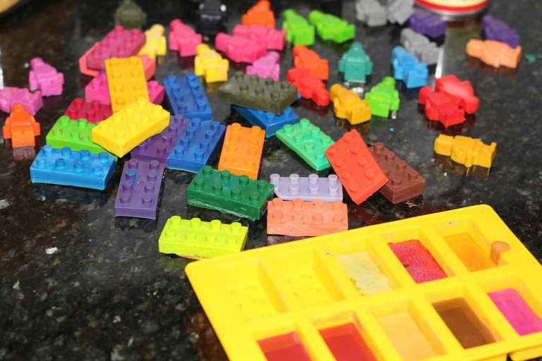 Lego Party and Crayon making 008